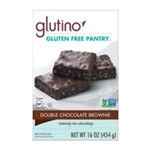 Glutino Double Chocolate Brownie Mix - 16 Oz.