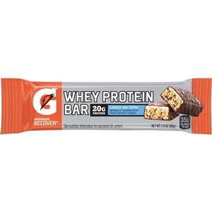 Gatorade Recover Whey Protein Bar Cookies and Cream - 2.8 Oz.