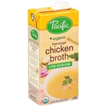 Pacific Organic Low Sodium Chicken Broth - 32 Fl. Oz.
