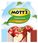 Motts Applesauce Natural - 4.5 Oz.