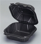 Medium Hinged 1 Compartment Sandwich Container