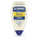 Hellmanns Real Mayonnaise-Squeeze Bottles - 12 Oz.