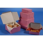 Strawberry Lock Corner Bakery Box - 7 in. x 7 in. x 4 in.