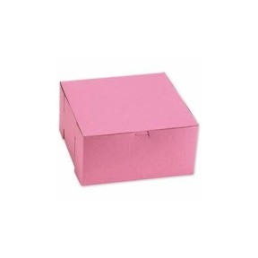 Lock Corner Bakery Box Strawberry - 14 in. x 10 in. x 4 in.