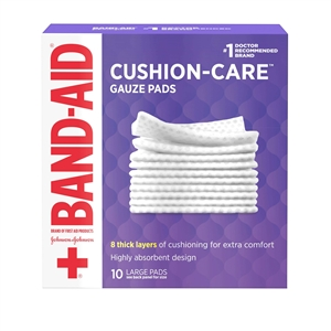 Band-Aid First Aid Gauze Pad - 4 in. x 4 in.