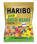 Haribo Sour Gold-Bears Gummi Candy - 4.5 Oz.