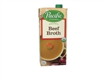 Pacific Organic Beef Broth - 32 Oz.