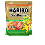 Haribo Sour Gold-Bears Gummi Candy Resealable Bag - 25.6 Oz.