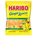 Haribo Ginger-Lemon Gummy Candy - 4 Oz.