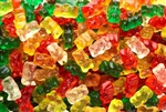 Gold Bears Gummi Candy - 5 Pound