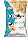 Popchips Sea Salt Kosher Popped Potato Chips - 0.8 Oz.