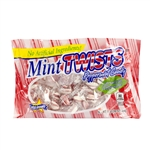 Red And White Mint Twists Natural - 1 Lb.