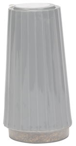 Gray Pepper Shakers - 1.5 Oz.