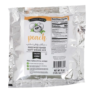 Peach Drink Mix - 18 Oz.