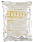 Instant Banana Pudding Mix - 24 Oz.