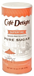 Superfine Sugar Canister - 16 Oz.