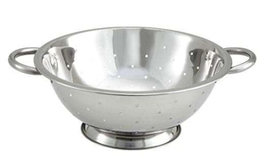 14 in. Bowl Diameter Colander Stainless Steel - 8 Qt.