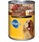 Pedigree Ground Dinner With Beef Bacon and Cheese - 13.2 Oz.