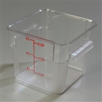 StorPlus Square Container Clear - 6 Qt.