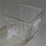StorPlus Square Container Clear - 12 Qt.