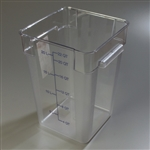 StorPlus Square Container Clear - 22 Qt.
