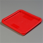 StorPlus Square Container Lid Red - 6-8 Qt.