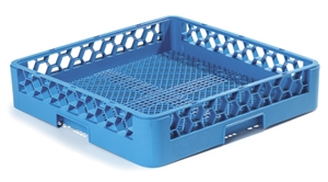 OptiClean Flatware Rack Blue - 19.75 in. x 19.75 in. x 4.0 in.