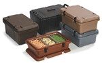 Cateraide Combination Pan Carrier Black - 24 Qt.
