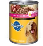 Pedigree Meaty Ground Dinner With Chopped Beef - 13.2 Oz.