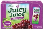 Juicy Juice Grape Single Serve Slim Box - 54 Fl. Oz.