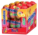 Mentos Gum Sugar Free Mixed Fruit Curvy Bottle 50 Pieces