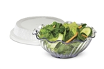 Classic Clear Bowl Lid Fits DXSWC1207 Bowl 12 Oz.