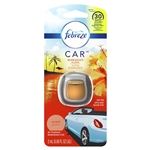 Febreze Air Freshener Car Hawaiian Aloha - 0.06 Fl. Oz.