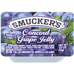 Smucker Grape Jelly Plastic - 0.5 Oz.