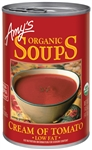 Organic Soup Cream Of Tomato - 14.5 Oz.