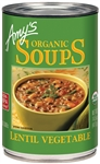 Organic Lentil Vegetable Soup - 14.5 oz.