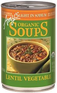 Amys Organic Lentil Vegetable Soup - 14.5 Oz.
