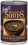 Amys Organic Black Bean Vegetable Soup - 14.5 Oz.