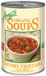 Amys Organic Chunky Vegetable Soup - 14.3 Oz.