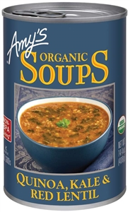 Organic Quinoa, Kale and Red Lentil Soup - 14.4 oz.