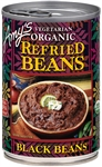 Organic Refried Black Beans - 15.4 oz.