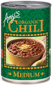 Amys Organic Medium Chili - 14.7 Oz.