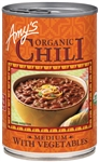 Organic Chili Medium With Vegetables - 14.7 Oz.