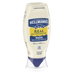Hellmanns Real Mayonnaise-Squeeze Bottles - 11.5 Oz.