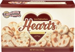 Lahvosh Crackerbread Hearts Original - 4.5 Oz.