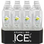 Sparkling Ice Lemon Lime, with Antioxidants and Vitamins, Zero Sugar - 17 oz.