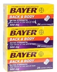 Back and Body Extra Strength Pain Reliever Caplets