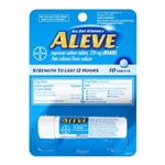 Aleve Tablet Vial 10 Count