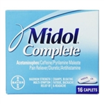 Midol Menstrual Caplets Blister Card 16 Count