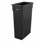 Slender Trash Can Black - 23 Gal.